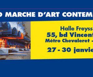 Grand Marché d'Art Contemporain 2011, à Paris, ce week-end