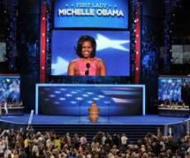 Présidentielle américaine : Michelle Obama, reine de la convention démocrate