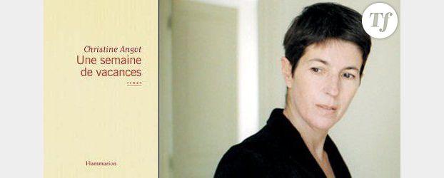 """Rentrée littéraire 2012 : """"Une semaine de vacances"""" de Christine Angot"""