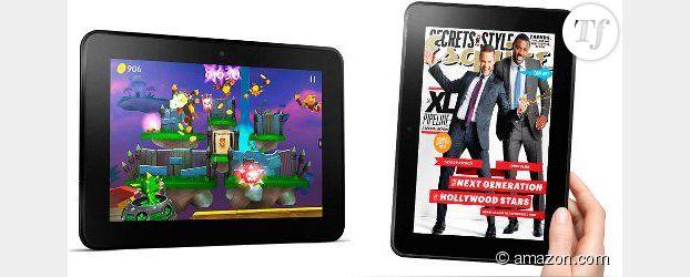 Amazon dévoile sa tablette numérique : la Kindle Fire HD