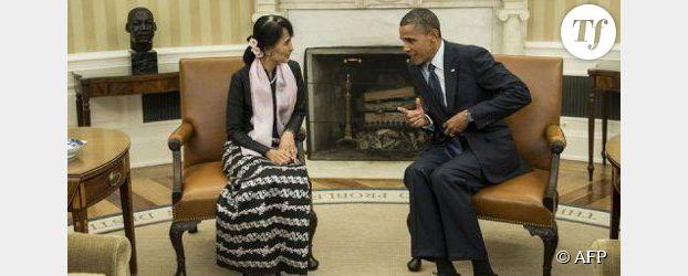 Aung San Suu Kyi et Barack Obama : la rencontre de 2 prix Nobel de la paix
