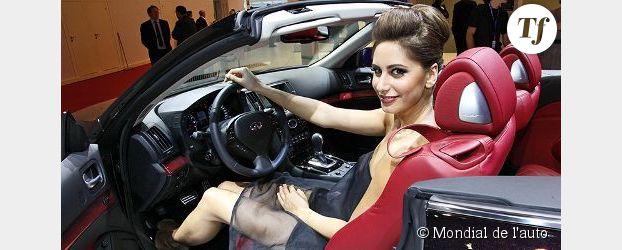 Voitures et hôtesses : le Mondial de l'auto 2012 lance son grand déballage