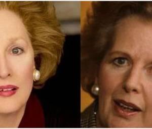 Meryl Streep en Margaret Thatcher : une  ressemblance frappante !