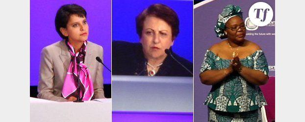 Women's Forum 2012 : 1er jour, 3 femmes puissantes