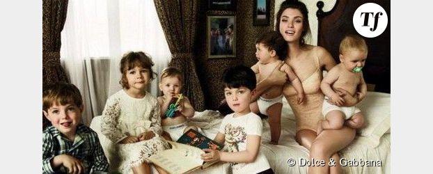 Dolce&Gabbana : collection enfants et Milf