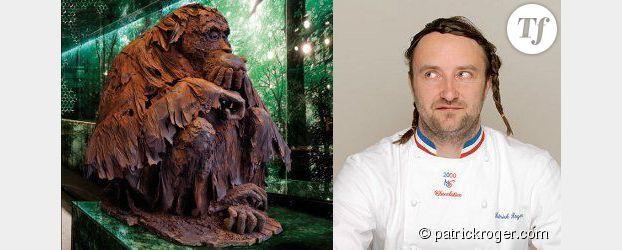 Salon du chocolat patrick roger nous dit pourquoi le cacao rend heure - Sculpture en chocolat patrick roger ...