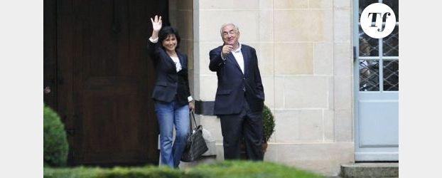 Anne Sinclair en couverture de Paris Match avec Pierre Nora