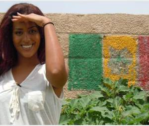 Amel Bent devient marraine du programme Always de l'UNESCO pour les femmes du Sénégal