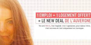 Auvergne : le logement offert à tout travailleur qui vient s'installer dans la région