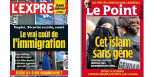 Le Point vs l'Express : la guerre des Unes provocatrices continue