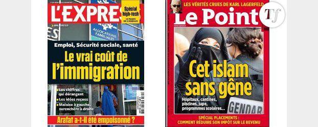 Le Point vs l'Express : la guerre des Unes provocatrices continue