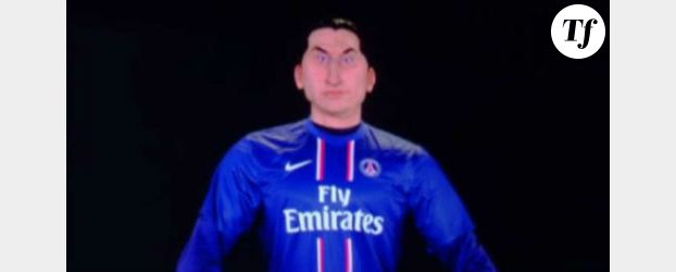 Zlatan Ibrahimovic : son but contre l'Angleterre aux Guignols – Vidéo