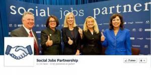 Facebook lance The social jobs partnership, son site d'offres d'emploi