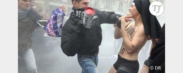 Manifestation anti-mariage gay : cinq hommes inculpés pour violences sur les Femen