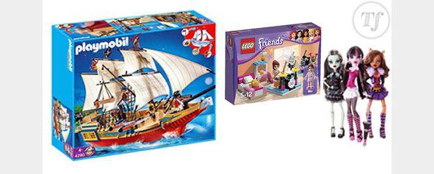 Noël 2012 - Playmobil, Lego, Monster High : quand acheter ses jouets moins cher sur Internet ?