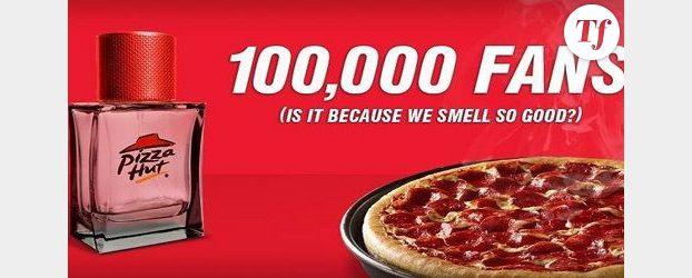 Pizza Hut lance son parfum senteur « pizza »