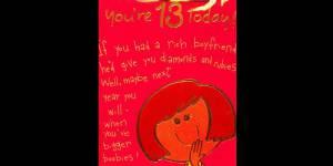 Hallmark parle de gros seins dans une carte d'anniversaire pour fillettes et scandalise Twitter