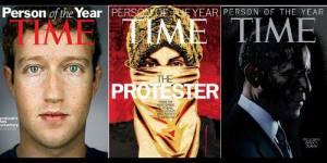 Classement Time de la Personnalité de l'année : où sont les femmes ?