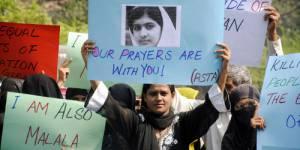 Malala reçoit le prix Simone de Beauvoir pour la liberté des femmes 2013