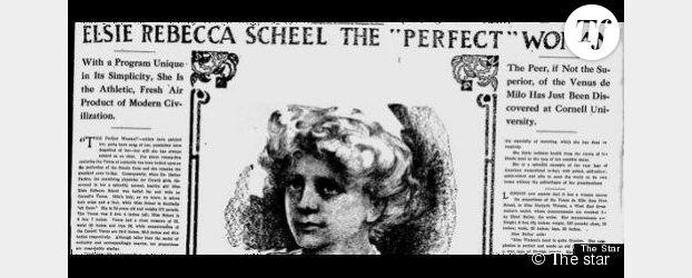 En 1912, la femme aux mensurations parfaites faisait du 42