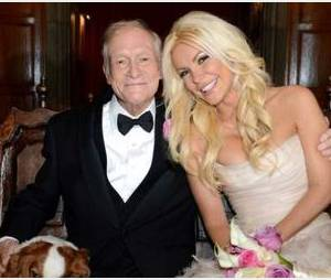 Hugh Hefner : un mariage heureux avec Crystal Harris