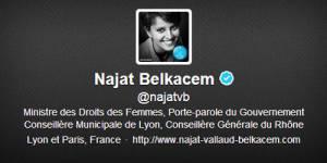 Twitter : la presse anglaise dénonce une volonté de censure de Najat Vallaud-Belkacem