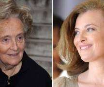 Bernadette Chirac encourage Valérie Trierweiler