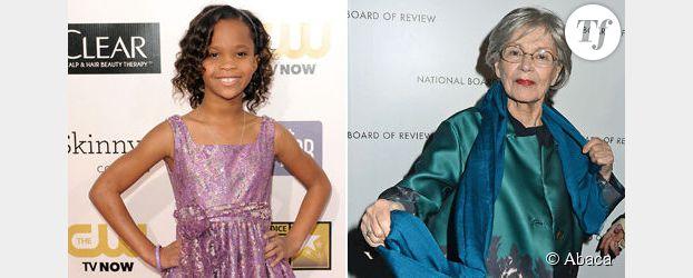 Quvenzhané Wallis, 9 ans, et Emmanuelle Riva, 85 ans, recordwomen des Oscars