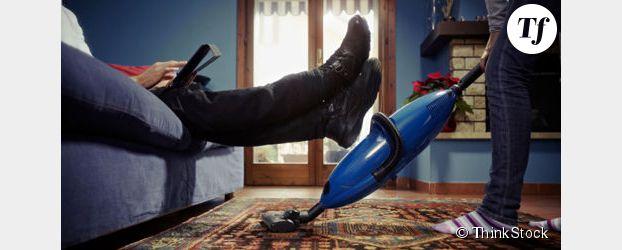 Les hommes ne font pas le ménage car ils n'en voient pas l'utilité