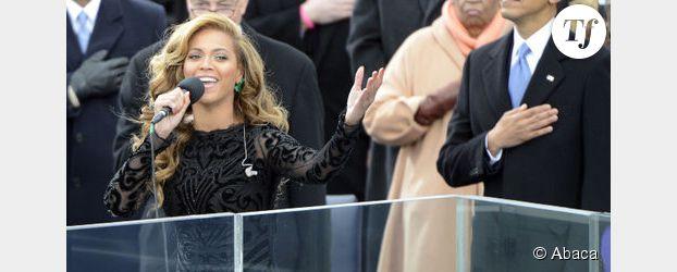 Beyonce  en playback pour Obama ?