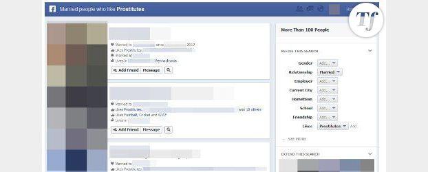 Facebook : Graph Search révèle les recherches délirantes des internautes