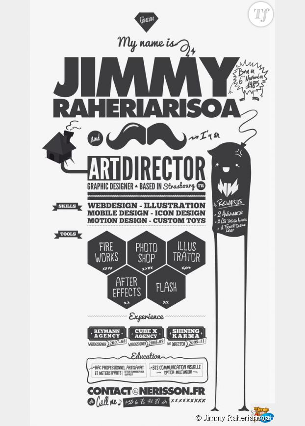 Le CV de Jimmy Raheriarisoa