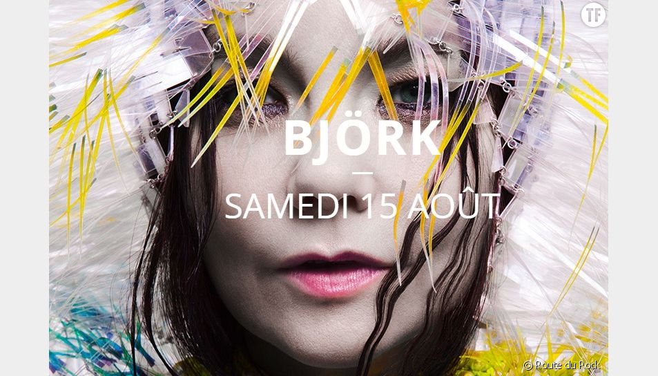 Route du Rock 2015 : Björk est la première artiste à rejoindre le festival