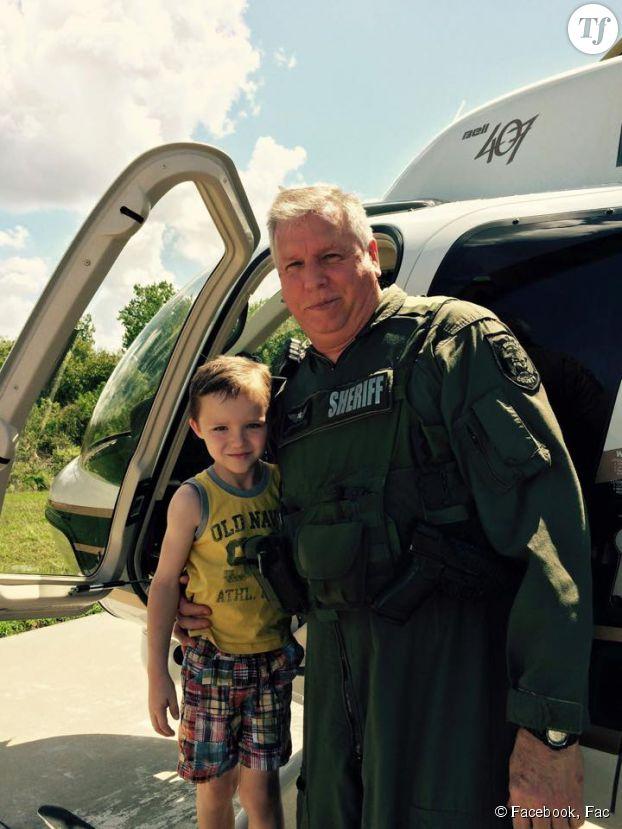 La rencontre avec le pilote d'hélicoptère.
