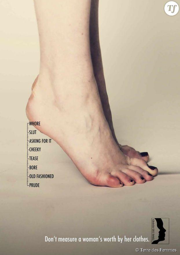 """""""Ne mesurez pas la valeur d'une femme à son style vestimentaire""""."""