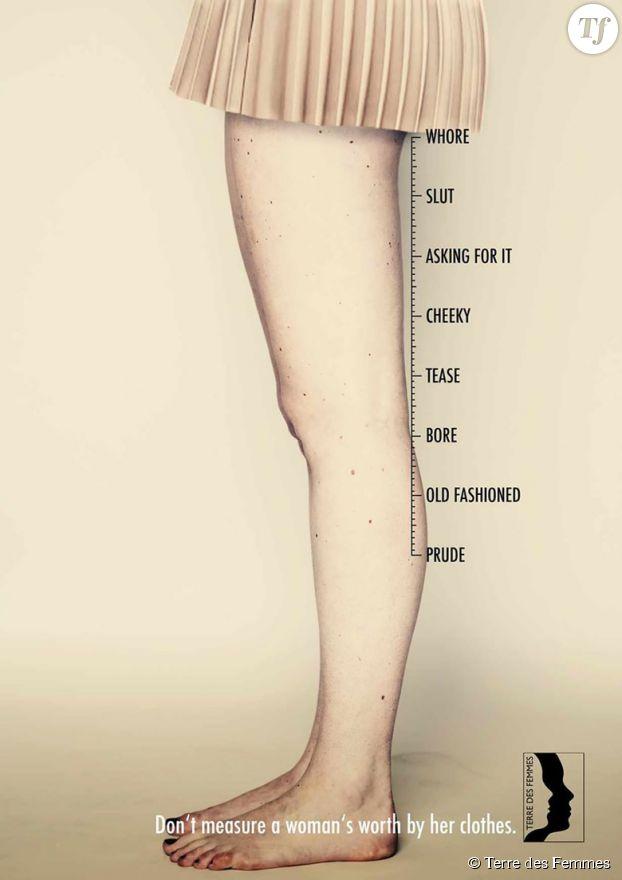 Plus le vêtement est court, plus la valeur de la femme semble réduite.