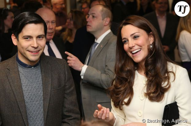 Kate Middleton et Robert James-Collier (Thomas Barrow)