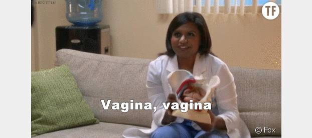 "L'actrice Mindy Kaling dans ""The Mindy Project"""