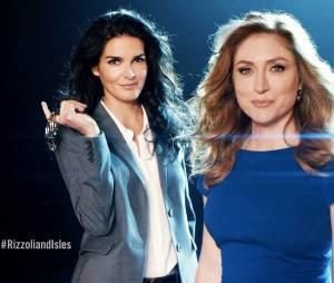 Angie Harmon et Sasha Alexander  dans Rizzoli and Isles Saison 5