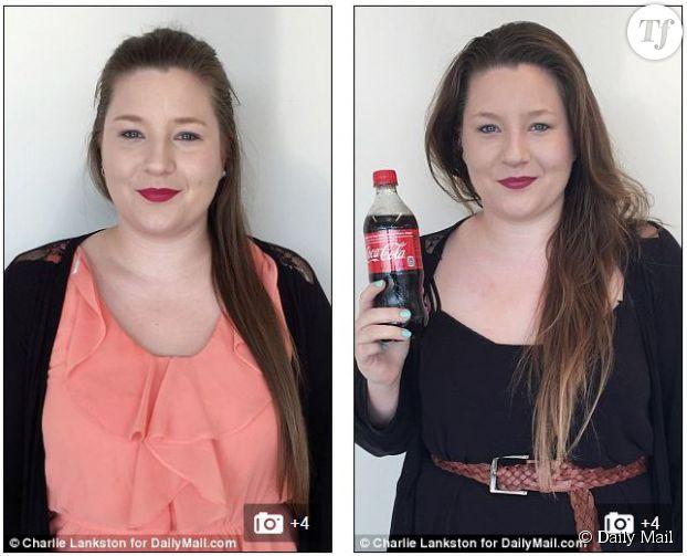 Découvrez la journaliste du Daily Mail avant et après son lavage de cheveux au Coca