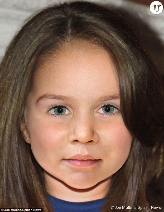 Voilà à quoi pourrait ressembler la fille de la Duchesse de Cambridge à 10 ans