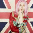 La coloration rose pastel chez Bleach London
