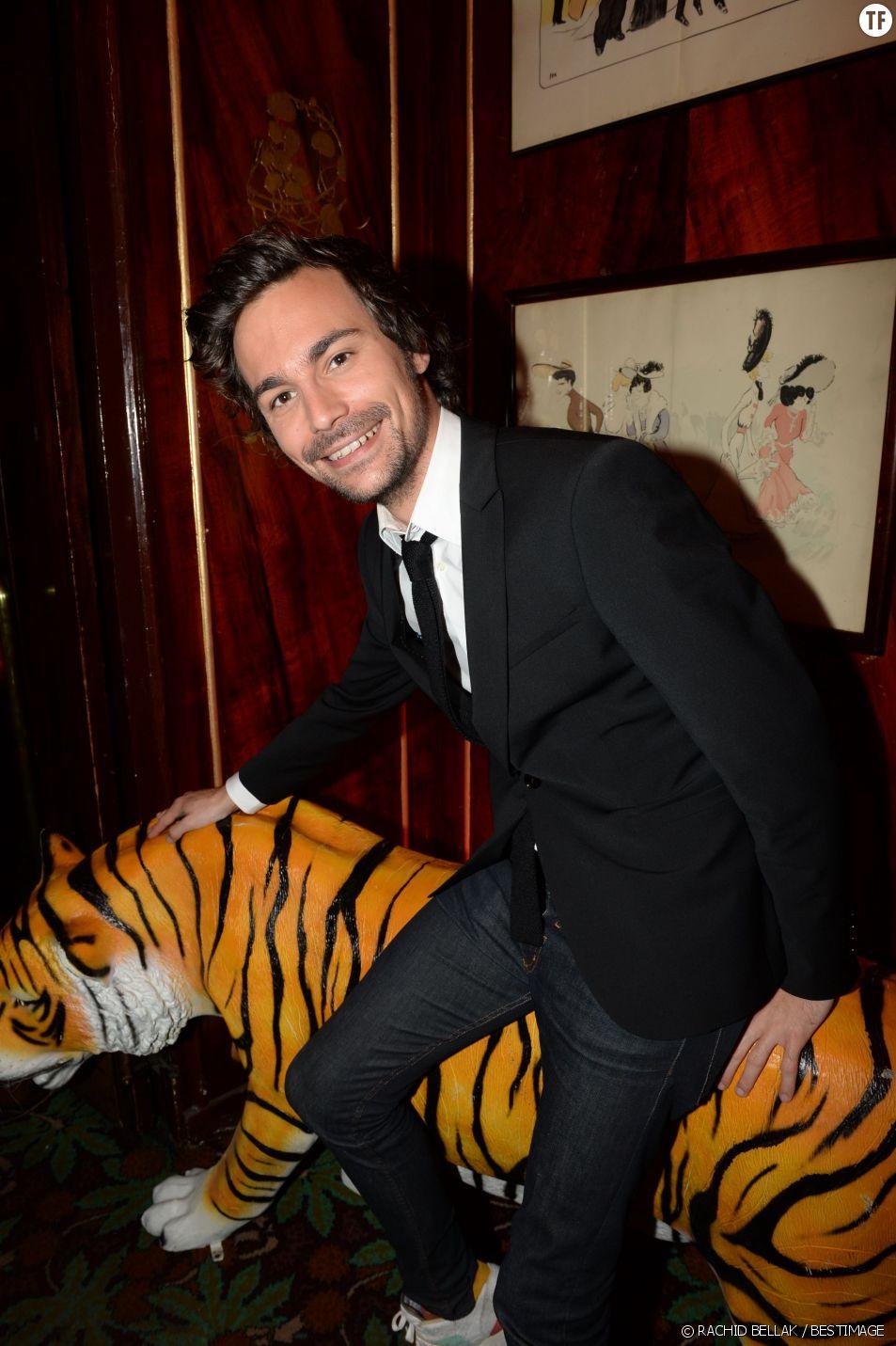 Bertrand Chameroy - Soirée Villa Schweppes chez Maxim's à Paris, le 16 avril 2015.