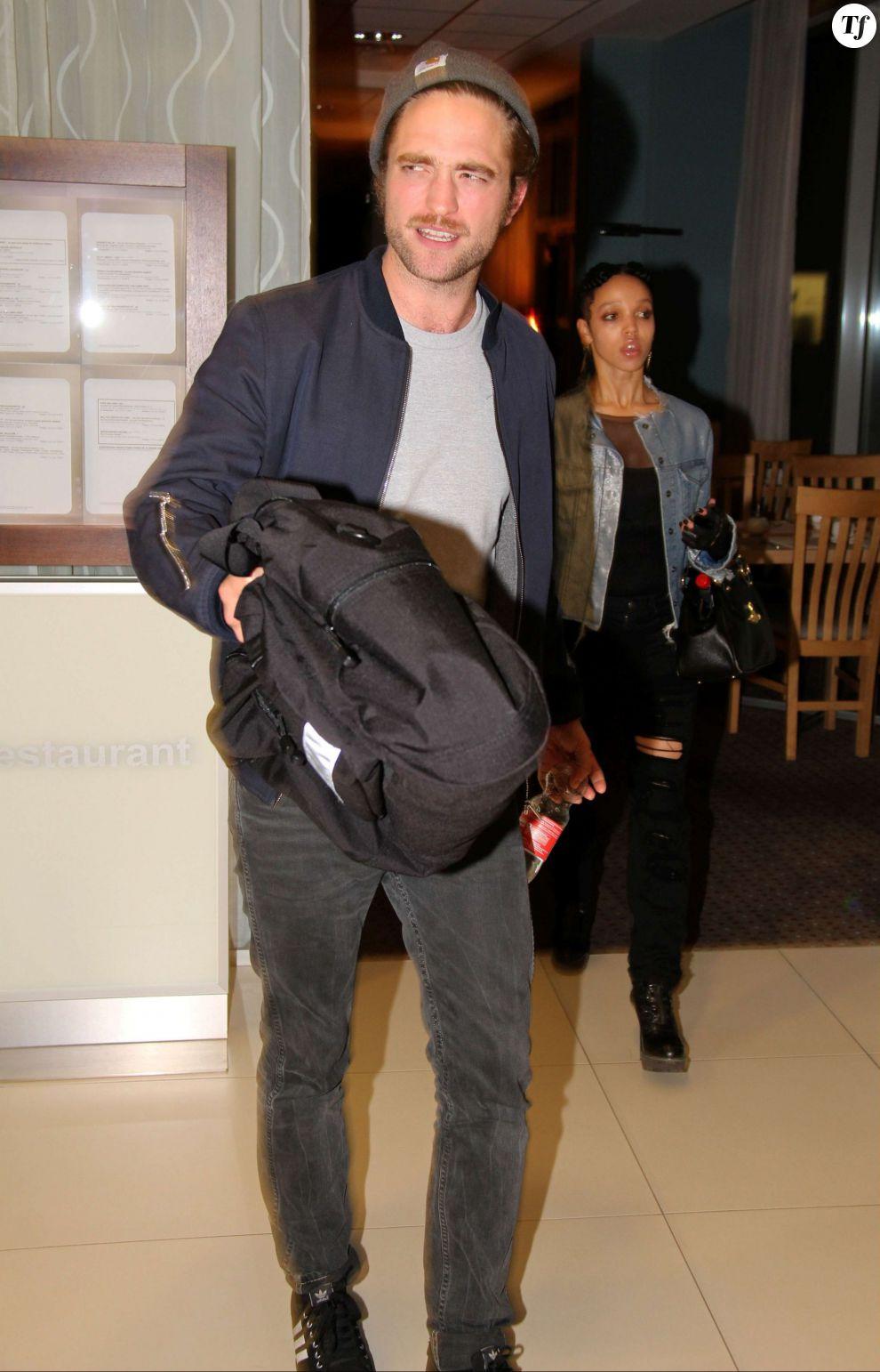 Robert Pattinson et sa future femme FKA Twigs