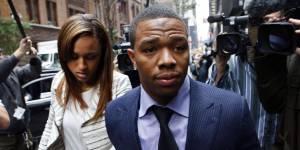 Ray Rice, le joueur de football américain qui avait tabassé sa femme, s'en tire