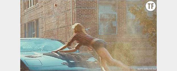 "Cameron Diaz, experte du car wash dans ""Bad teacher"""