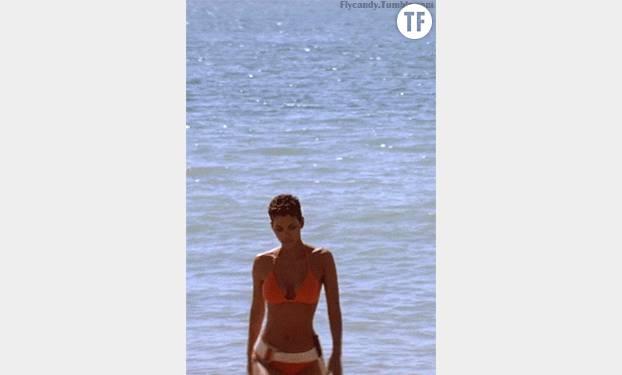 La sortie de l'eau masterisée par Halle Berry.