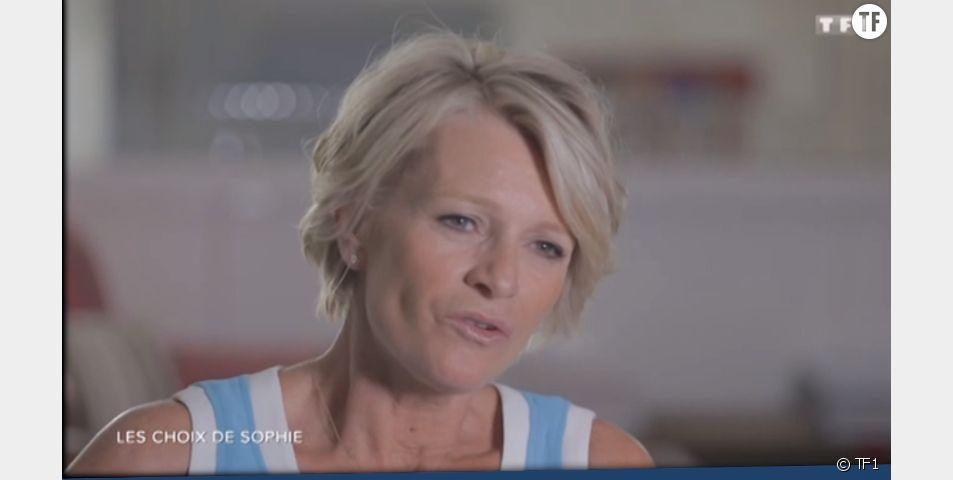 Sophie Davant dans Sept à huit sur TF1.