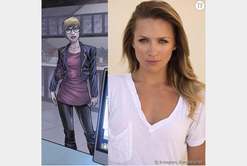 """Shantel VansSanten manifeste sa joie sur Instagram après avoir rejoint le casting de """"The Flash""""."""