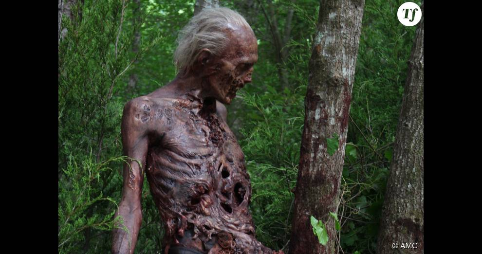L Un Des Zombies De La Saison 6 De The Walking Dead Terrafemina
